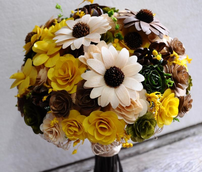Brown and yellow wedding inspiration weddings by the color yellow and brown wedding mightylinksfo