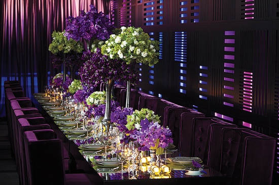 Purple and green elegant weddings by the color purple and green elegant junglespirit Choice Image